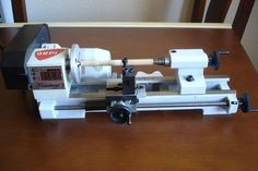 I also want to add a mini-lathe to my tools,this one looks fine,butt I would love to have one from Proxxon... ...                                                                                                                                                                                 Más