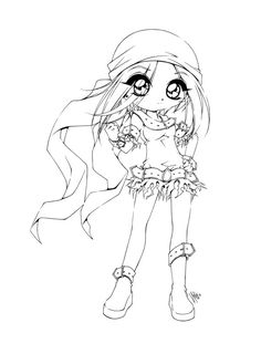 Linearts For Coloring By YamPuff On DeviantArt Big Eye See More This Is 1 Of The Mini Commissions Fund Raising Its