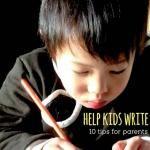 Literacy: Helping Kids Write ideas