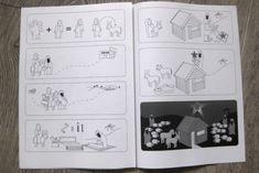 FREE downloadable Christmas card Ikea manual style