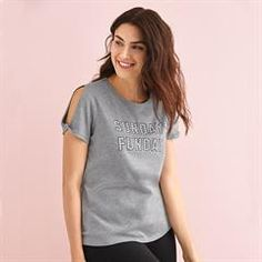 42a62b7d06e5 Sunday Funday Tee - Buy Avon Clothing online with free shipping to your  home. Thanks