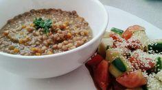 #veggie #vegan #tomate #pepino #ajonjolí #balsámico #mielDeMaple #lentejas #zanahoria #cebolla #perejil #cilantro