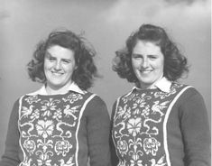 Rhona and Rhoda Wurtele born in 1922 in St.Lambert, Quebec.They were Canada's first official women's Olympic alpine ski team and competed in Canada and the United States from 1942 to 1948 representing the Penguin Ski Club. WW II caused the cancellation of two Olympics in a row and the twins were finally able to compete at the 1948 Olympics in St. Moritz, Switzerland. The two of them made up the entire Women's Alpine Team, but accidents during training and trials meant both left without medals.