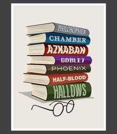 Harry Potter Books, Harry Potter Movie Poster,Harry Potter art, Scar Illustration Sorcerers Stone Azkaban Chamber of Secrets Half-Blood Harry Potter Movie Posters, Harry Potter Books, Harry Potter Love, Saga, Book Posters, Mischief Managed, Book Fandoms, Love Book, So Little Time