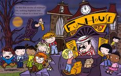 13 Ghosts of Halloween, published by Scholastic Canada.