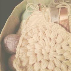 Making a Puff stitch hat!