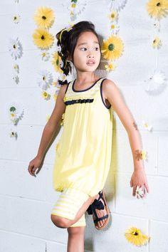 Deux Par Deux | Jolie Daisy Collection #ss15 #summeroutfits #girls #fashionista #mode #enfants #girls