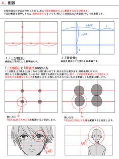 色んな構図の作り方 [10]