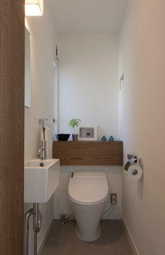 バス/トイレ事例:トイレ(つつじヶ丘の家)