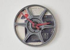 handmade recycled clocks