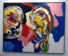Karel Appel Artist Painting 1964 Frieze Art Fair Masters Exhibition London