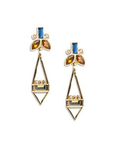 Different and intriguing- I love how open this earring is. The Desert Nights Earrings by JewelMint.com, $29.99