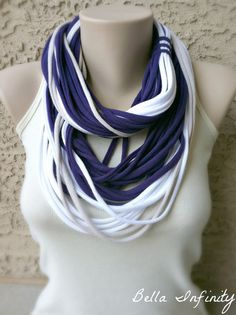 Bella Infinity Wrap Scarf Purple White by BellaInfinityScarves, $28.00   www.facebook.com/infinity0512