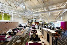Geweldig open kantoor van One Workplace http://www.kantoorruimtevinden.nl/blog/open-kantoren-zijn-geweldig-ontdek-hier-waarom/