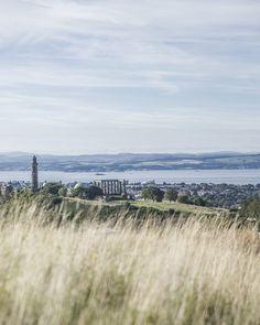 Vue sur Calton Hill - Edimbourg, Ecosse Inverness, Edinburgh City, Destinations, Voyage Europe, Week End, Land Scape, Scotland, Nature, Tours