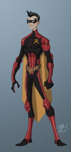 Robin Redesign. Not incredibly stealthy, but I like the armored-in-(most)-crucial-parts look.