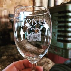 Our historic barn offers a beautiful setting to experience wonderful, handcrafted wines. Wine Tasting Glasses, Winery Logo, Tasting Room, Glass Design, Wines, Wine Glass, Tractors, Explore, Inspiration