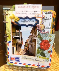 The Scrappy Tree: Travel Journal