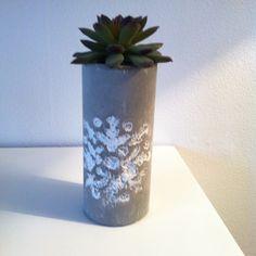 Beton vase diy