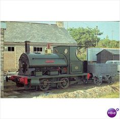 Lee Moor No 2 Torycombe Engine Shed 1970 Steam Train Postcard