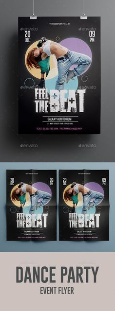 Dance Show Flyer — Photoshop PSD #night #flier • Available here → https://graphicriver.net/item/dance-show-flyer/18677630?ref=pxcr
