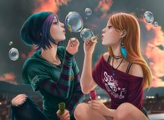 Chloe and Rachel - Gimme The Sweet And Lowdown by luisagiliberti