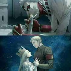 Is it weird that I ship both Historia x Ymir and Historia x Reiner?
