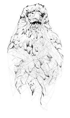 Curioos.com | Crow by Jordan Rogers (United Kingdom) - http://pinterest.com/curioos
