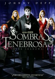 MARÇ-2015. Sombras tenebrosas. DVD COMÈDIA BUR.  https://www.youtube.com/watch?v=s1SAEFHajEk