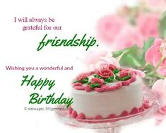 Birthday Message For Friend Happy Quotes Friends Wishes Messages