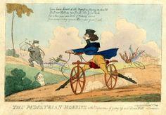 The Dandy's Velocipede, 1818