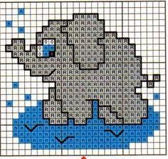 Baby Cross Stitch Patterns, Cross Stitch Baby, Cross Stitch Animals, Cross Patterns, Cross Stitch Charts, Cross Stitch Designs, Embroidery Patterns, Small Cross Stitch, Cross Stitch Needles