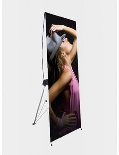 X frame banner stand www.dxpdisplay.com