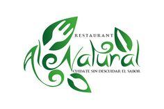 logotipo para restaurante de comida saludable