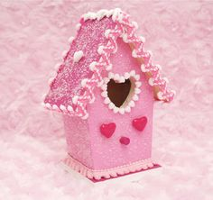 Sweetheart Glitter Cottage