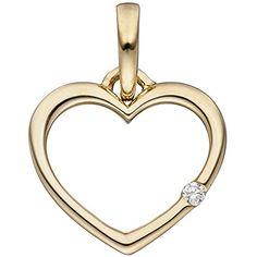 """Dreambase Damen-Anhänger Herz """"Herz"""" mit einem Diamant-Br... https://www.amazon.de/dp/B01HC91P6E/ref=cm_sw_r_pi_dp_u31CxbHARG52K"""