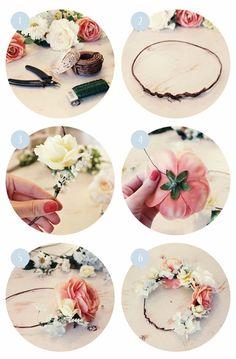 DIY+diadema+floral