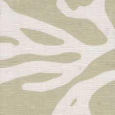 codium in on sand from @nettle+fin #fabric #linen #cream #neutral