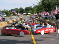 All American Soap Box Derby - my first husband rolled his new pick-up truck down soap box derby hill in Leavittsburg. Akron Ohio, Cleveland Ohio, Soap Box Derby Cars, Ohio Attractions, Texas Bucket List, Cuyahoga Falls, The Buckeye State, Summit County, Festivals Around The World