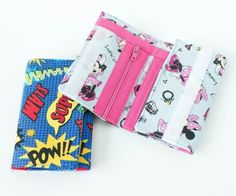 Kid's Wallet Tutorial and Pattern