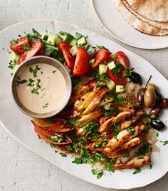 Roasted Chicken With Potatoes, Arugula and Garlic Yogurt Recipe - NYT Cooking