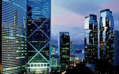Hong Kong World HD desktop wallpaper, China wallpaper - World no. Lit Wallpaper, Computer Wallpaper, World Finance, Hong Kong, Vertical City, Timeline Cover Photos, Trump International Hotel, Hd Nature Wallpapers, Desktop Wallpapers