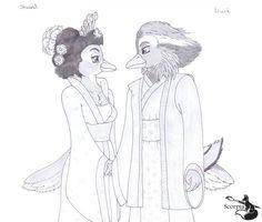 Liuck and Shuand the mandarin ducks by elleboe.deviantart.com on @DeviantArt
