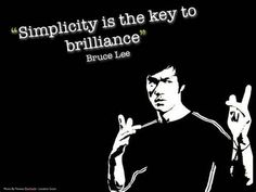 Again, Bruce Lee Quote <3