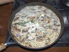 Die leckerste Champignon-Rahm-Soße (nicht nur) zu Pasta