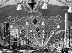 Glendale, Calif. c. 1959 Christmastime on Brand Boulevard