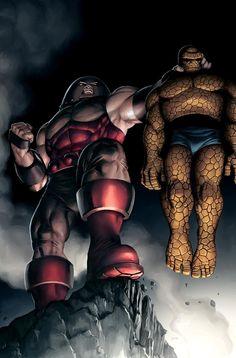 Thing vs Juggernaut cover by *JPRart on deviantART