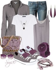 """Plain White T contest"" by suzi70 ❤ liked on Polyvore"