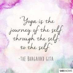 """A beautiful quote fromभगवदगत (sanskrit for """"bhagavad gita"""") finding yourself through yoga is a blessing a journey with multiple adventures and discoveries.. #discover #yoga #yogi #yogilife #discover #exploreyourself #findyourself #nayaubud #ubud #bali #inspiration #quote"""