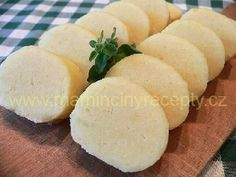 Potato dumplings (the best) Slovak Recipes, Czech Recipes, Great Recipes, Snack Recipes, Cooking Recipes, European Cuisine, Dumpling Recipe, Bread And Pastries, Food Dishes